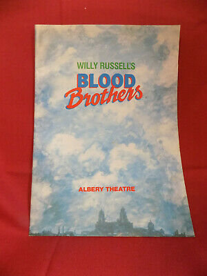 Blood Brothers Programme, Albery Theatre, with Sarah Lancashire 1990