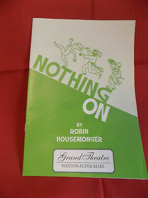 Nothing On Programme, Grand Theatre Weston Super Mare, 1994