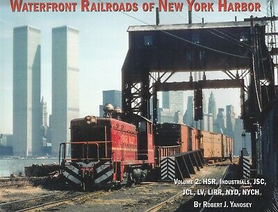Morning Sun Railroad Books Softcover-Waterfront Railroads New York Harbor-Vol. 2