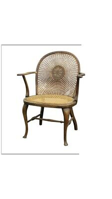 19Th Century Fruitwood Elbow Chair
