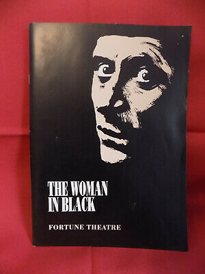 The Woman in Black programme, Fortune Theatre, 1995