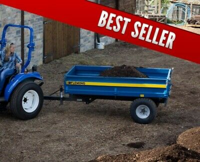 Fleming 2 Ton Tipping Trailer (TR2).