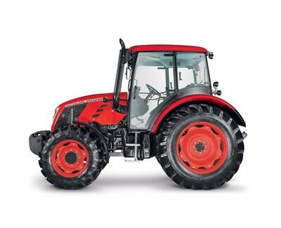 Zetor Proxima 120Hs 4Wd Tractor Plant