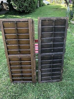 french antique Shutters