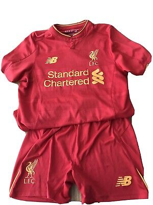 Official Liverpool FC  16/17 Home Kit Mane 19 Size MB (8-9 Yrs)