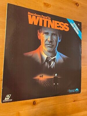 Witness 1985  Laserdisc  GOOD condition