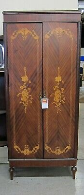 Antique French Armoire Marquetry Inlay with Satinwood