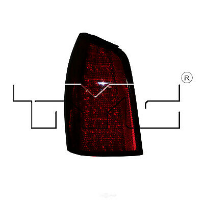 Tail Light Assembly Left TYC 11-5940-00