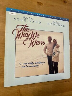 The Way We Were - Deluxe Widescreen -   Laserdisc - GOOD CONDITION !