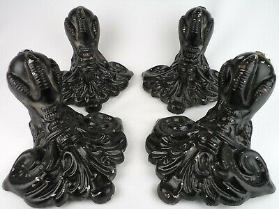MASSIVE LEGS IN THE FORM OF EAGLE'S Paw FOR A BATH CAST IRON ENGLAND 1980s home