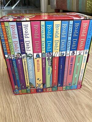 Brand New unread Roald Dahl Phizz Whizzing Collection 15 books box set RRP £94