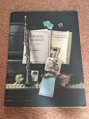 Vintage Beatles Clarinet Themes and Variations Sheet Music Book