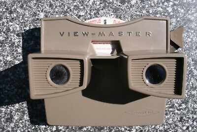 View-Master 3D Viewer Model G & Preview Reel DRE-63