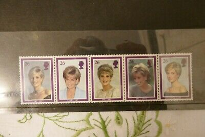 Gb Diana Princess Of Wales 1998 Presentation Pack Of Royal Mail Stamps Free P&P
