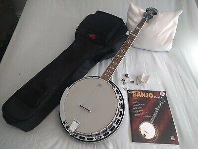 5 String Banjo By Vintage With Remo Weatherking Head