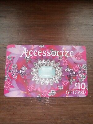 Accessorize £10.00 Gift Card **Never Been Used.. Please Read Description **