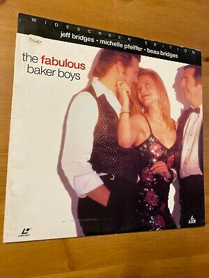 The Fabulous Baker Boys Widescreen Laserdisc Movie GOOD condition