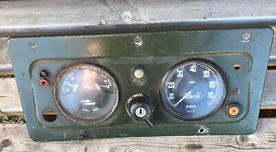 LAND ROVER 88 SERIES 2,2a INSTUMENT PANEL DASH CLUSTER BINNACLES