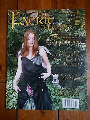 Faerie Magazine Autumn 2005 Amy Brown Froud Cottington Narnia Woodland Fairy Art