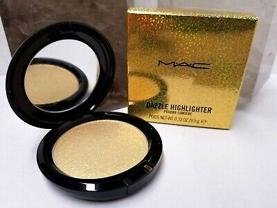 "NIB MAC Dazzle Highlighter ""DAZZLEGOLD"" .33oz/9.5g"