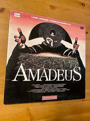 Amadeus Laserdisc LD GOOD condition