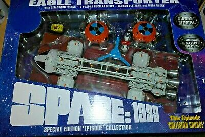 "Sixteen 12 Space 1999 - 12"" Die Cast Set 5  ""COLLISION COURSE"""