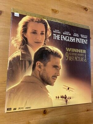 The English Patient - Laserdisc -  Good Condition !!