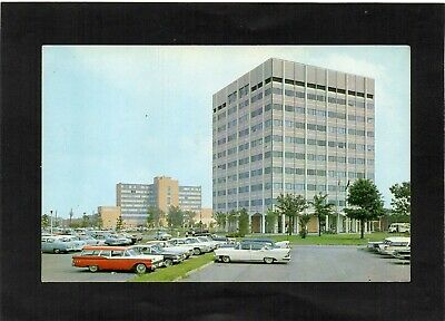 USA - The Medical Tower, NORFOLK, Virginia. Hospital in background. Cars.