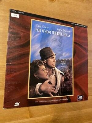 For Whom The Bell Tolls -  Laserdisc (SIDE 4 CAV) - GOOD CONDITION !