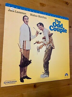 THE ODD COUPLE Laserdisc LD Remastered Edition GOOD condition