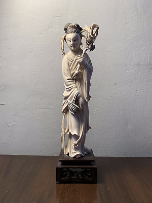 Fine Quality Antique Early 20Th Century Chinese Figurine Statue