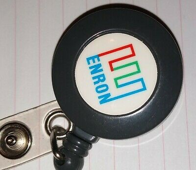 Enron Retractable Badge Holder Rare!