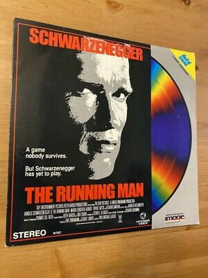 The Running Man - LASERDISC - GOOD CONDITION !