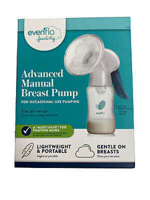 New & Sealed Advanced Evenflo Portable Manual Breast Pump - FAST SHIPPING