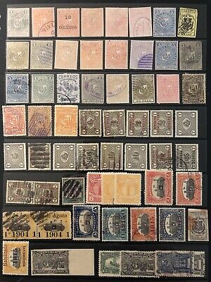 Dominican Republic Small Group Of Stamps On 4 Stockcards
