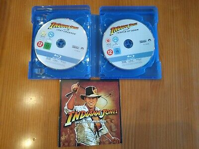 Indiana Jones - The Complete Adventures Blu-Ray (5 Discs) Harrison Ford