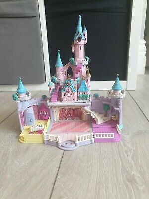 Disney BlueBird Polly Pocket Cinderella Castle - 1995 - doesnt Light Up. spares