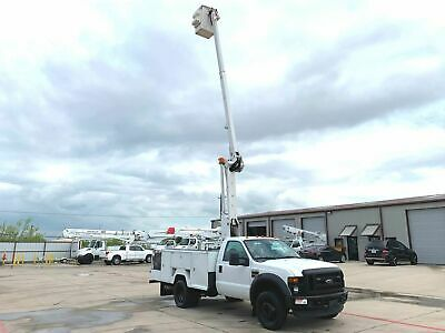 Ford F450 Bucket Truck 42 Foot Reach Articulating & Telescopic Boom 2009 2010