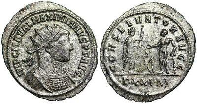 Maximianus CONSERVATOR AVGG from Siscia...coded series