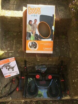 Lascal Buggy Board Mini - incl uncut connectors and strap + Scoot buggy hook
