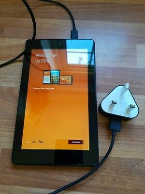 Amazon Kindle Fire Tablet 7th Generation - 7 Inch, Black 16GB