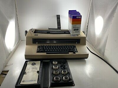 IBM SELECTRIC III Correcting Typewriter w/Extras/ribbons/elements