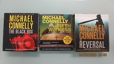3 Michael Connelly Audiobook CDs - Free Priority Shippin w/in U.S.