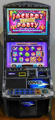 WMS BB2 (Bluebird 2) VIDEO SLOT MACHINE: JACKPOT BLOCK PARTY
