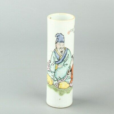 Chinese Exquisite Handmade Porcelain brush pot