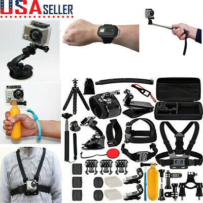 Sport Camera Accessories Kit For GoPro 7 8 6 Camera Outdoor Sports Set Kit 50in1
