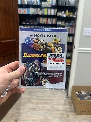 New Bumblebee + Transformers Ultimate 5 Movie Collection, Blu-Ray + Digital