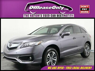 2017 Acura RDX Advance FWD Off Lease Only 2017 Acura RDX Advance FWD Premium Unleaded V-6 3.5 L/212