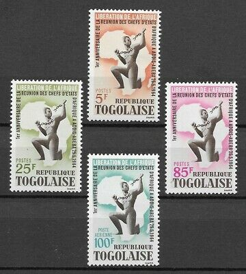 Togo 1964 African Heads of State MNH set S.G. 377-380