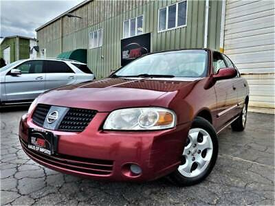 2004 Nissan Sentra 1.8 4dr Sedan 2004 Nissan Sentra, RED with 0 available now!
